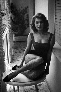Sofia Loren Rome 1955